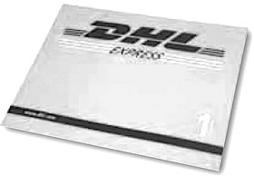 DHL EXPRESS BRIEF AUSLAND EXPRESS ENVELOPE
